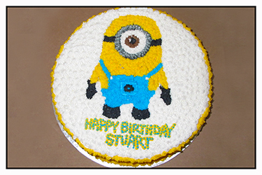 Minion Cake - Buttercream